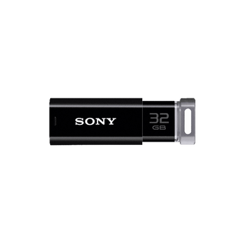32GB USB Micro Vault Click (Black), , hi-res
