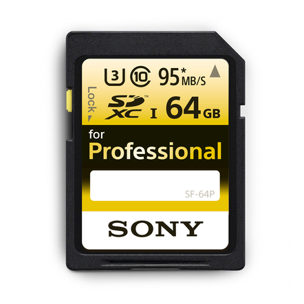 64GB PRO SD MEMORY CARD, , hi-res