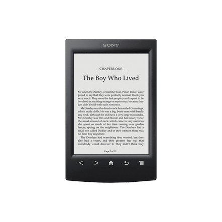 T2 Reader with 6.0 Paper-Like Touch Screen with Complimentary Harry Potter Ebook (Black)