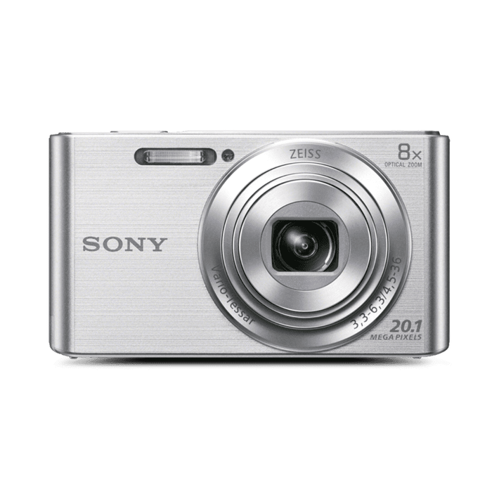 W830 Digital Compact Camera with 8x Optical Zoom (Silver), , product-image