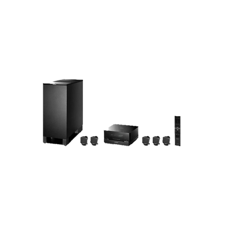 5.1 Channel DVD Home Theatre System (Black)