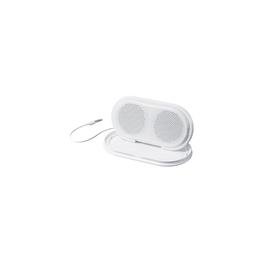 Portable Travel Speakers (White), , hi-res