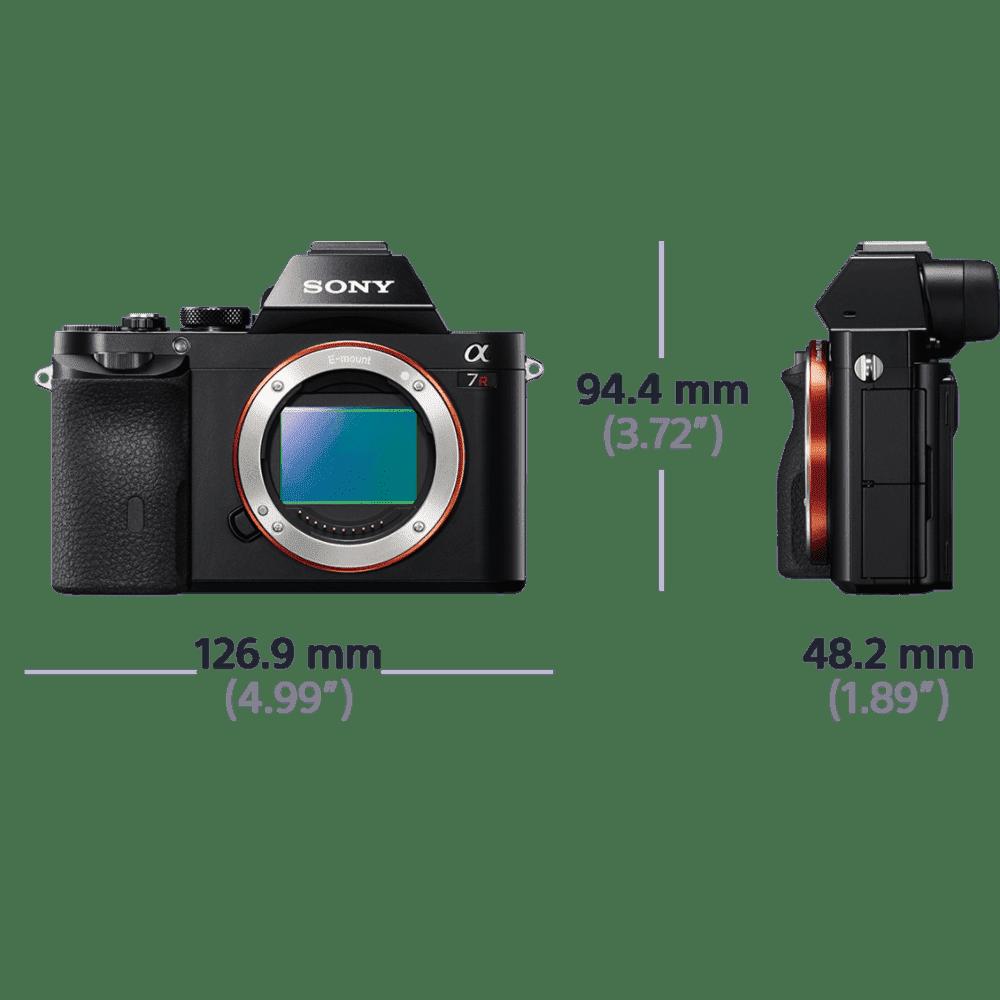 Alpha 7R Digital E-Mount Camera with Full Frame Sensor, , product-image