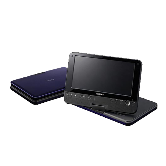 """8"""" FX870 Series Portable DVD Player (Blue), , product-image"""