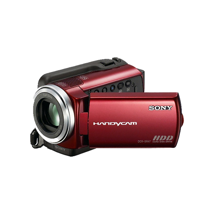 60GB Hard Disk Drive Camcorder (Red), , product-image