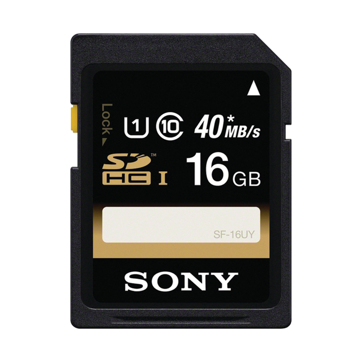 16GB SDHC Memory Card UHS-1 Class 10, , product-image