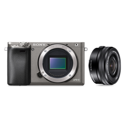 Alpha 6000 Digital E-Mount Camera (Grey) with 16-50mm Lens, , hi-res