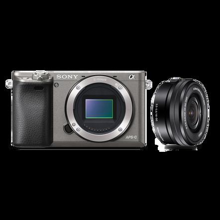 a6000 Digital E-Mount Camera (Grey) with 16-50mm Lens