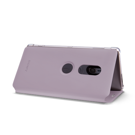 Style Cover Stand SCSH40 for Xperia XZ2 (Pink)