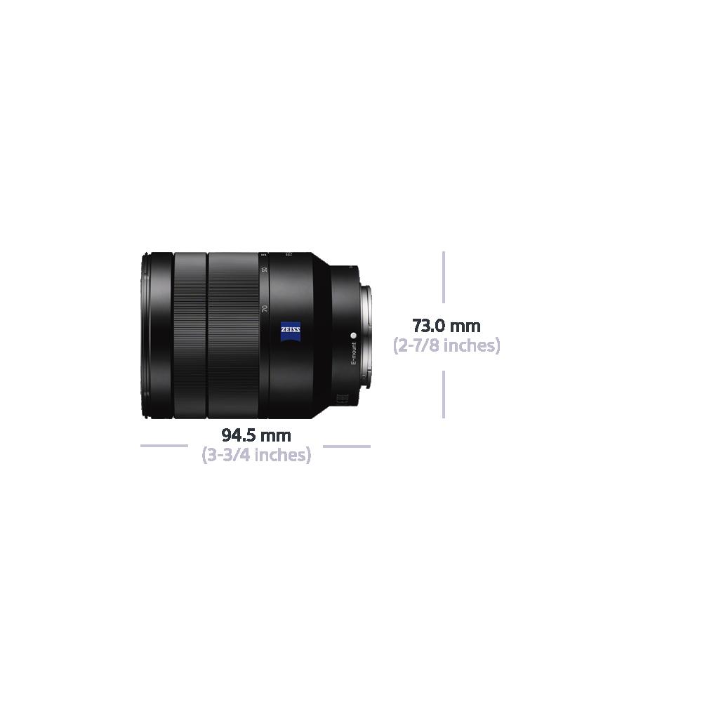 Vario-Tessar T* Full Frame E-Mount FE 24-70mm F4 ZA OSS Lens, , hi-res