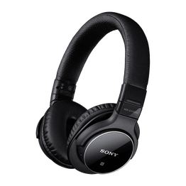 Bluetooth and Digital Noise Cancelling Headphones (Black), , hi-res