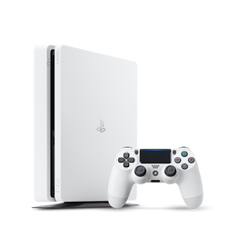 PlayStation4 Slim 500GB Console (White), , hi-res