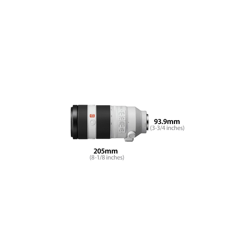 FE 100-400mm G Master super-telephoto zoom lens, , product-image