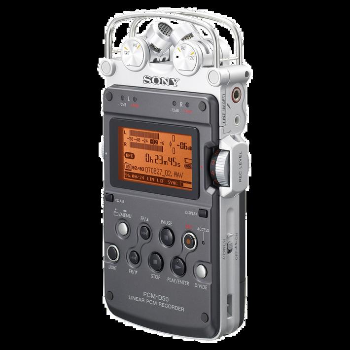 Linear PCM Recorder PCM-D50, , product-image