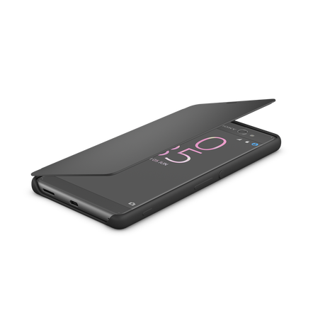 Style Cover Touch SCR56 for Xperia X Performance (Graphite Black), , hi-res