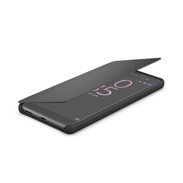 Style Cover Touch SCR56 for Xperia X Performance (Graphite Black), , product-image