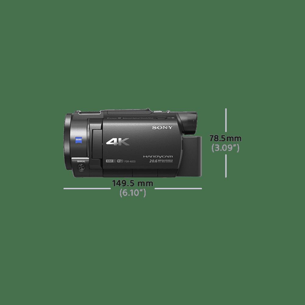 AX33 4K Handycam with Exmor R CMOS sensor, , product-image