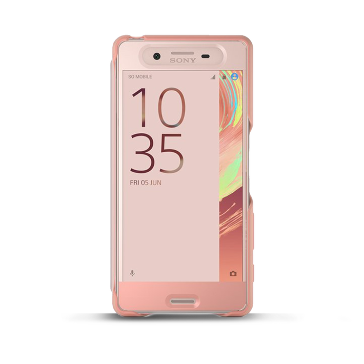 Style Cover Touch SCR50 for Xperia X (Rose Gold), , product-image