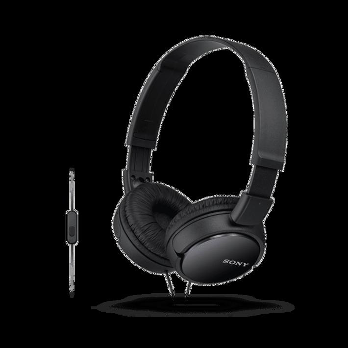 ZX110 Headband Type Headphones (Black), , product-image