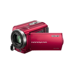 80GB SR68 Hard Disk Drive Camcorder (Red), , hi-res