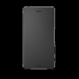 Style Cover Flip SCR52 for Xperia X (Graphite Black), , hi-res