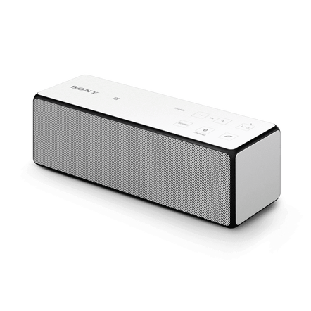 Portable Wireless Bass Speaker with Bluetooth (White), , hi-res