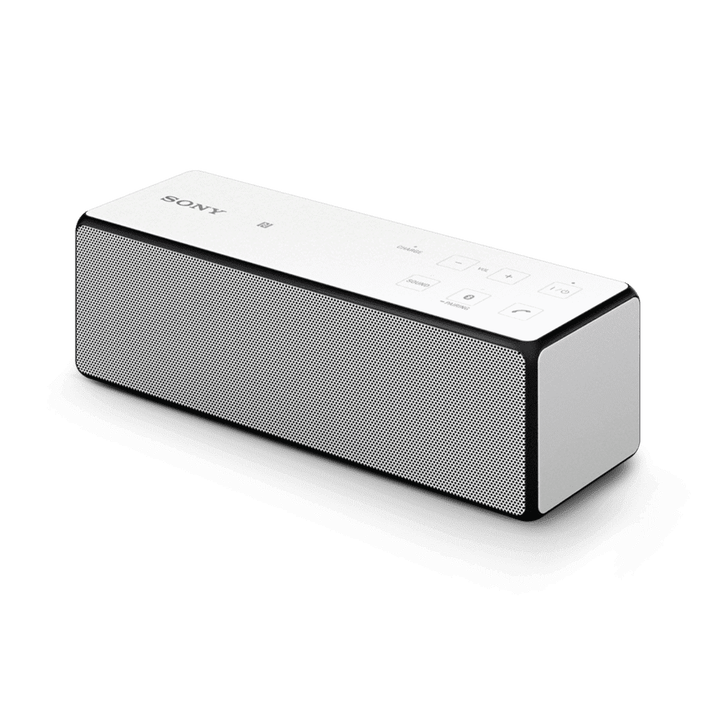 Portable Wireless Bass Speaker with Bluetooth (White), , product-image