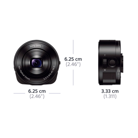 QX10 Lens-Style Camera with 18MP Sensor, , hi-res