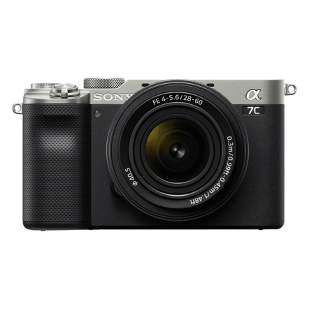 Alpha 7C - Compact Digital E-Mount Camera with SEL2860 28-60mm Lens (Silver), , hi-res