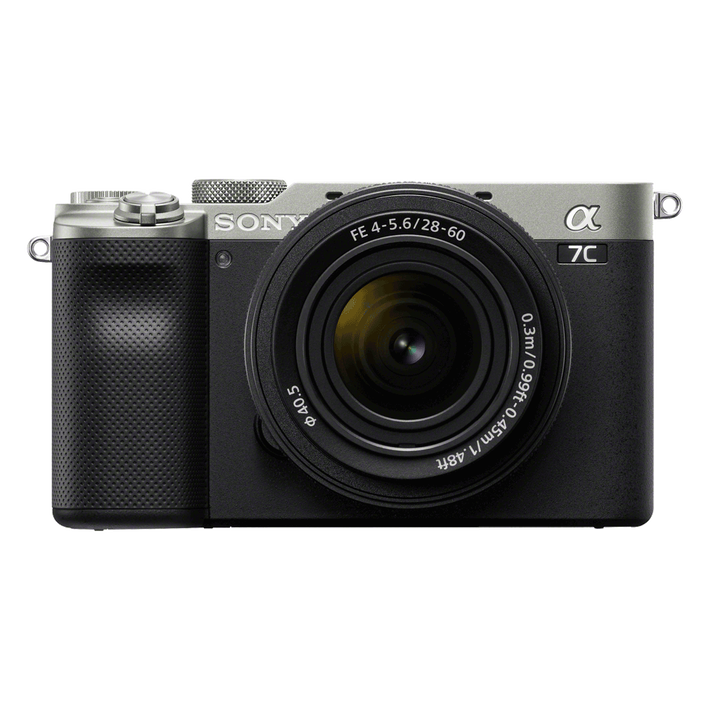 Alpha 7C - Compact Digital E-Mount Camera with SEL2860 28-60mm Lens (Silver), , product-image