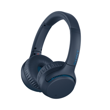 WH-XB700 EXTRA BASS Wireless Headphones (Blue), , lifestyle-image
