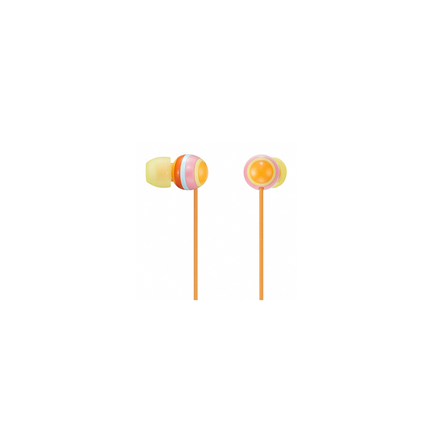 EX40 In-Ear Headphones (Bright Orange)