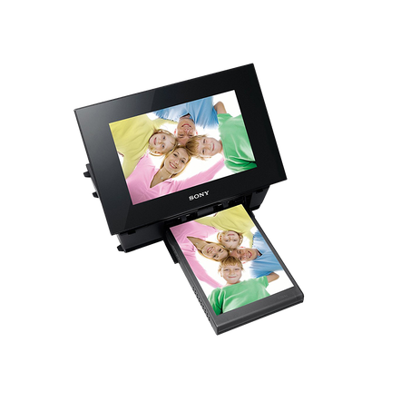 Digital Photo Frame / Printer (Black)