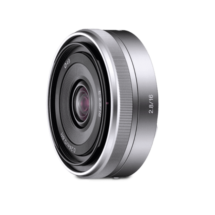 E-Mount 16mm F2.8 Lens, , product-image