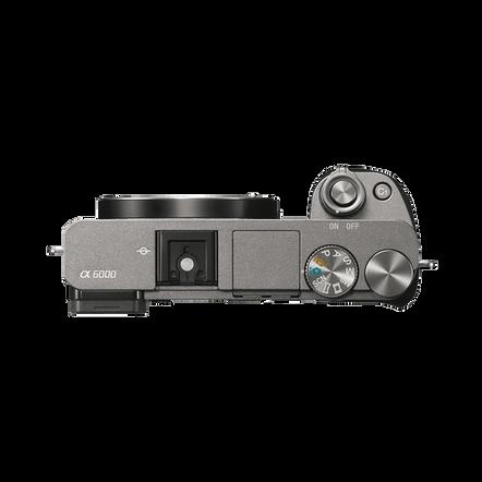 a6000 Digital E-Mount 24.3 Mega Pixel Camera (Grey), , hi-res