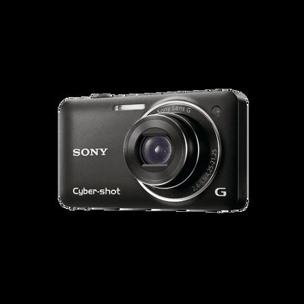 12.2 Megapixel W Series 5X Optical Zoom Cyber-shot Compact Camera (Black)