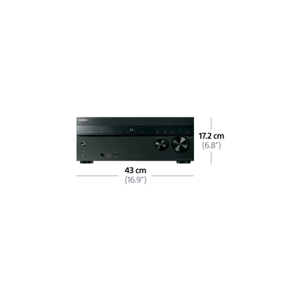 DN1050 7.2ch AV Receiver with NFC and Wi-Fi