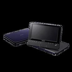 "8"" FX870 Series Portable DVD Player (Blue)"