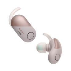 Wireless Noise Cancelling Headphones for Sports (Pink)