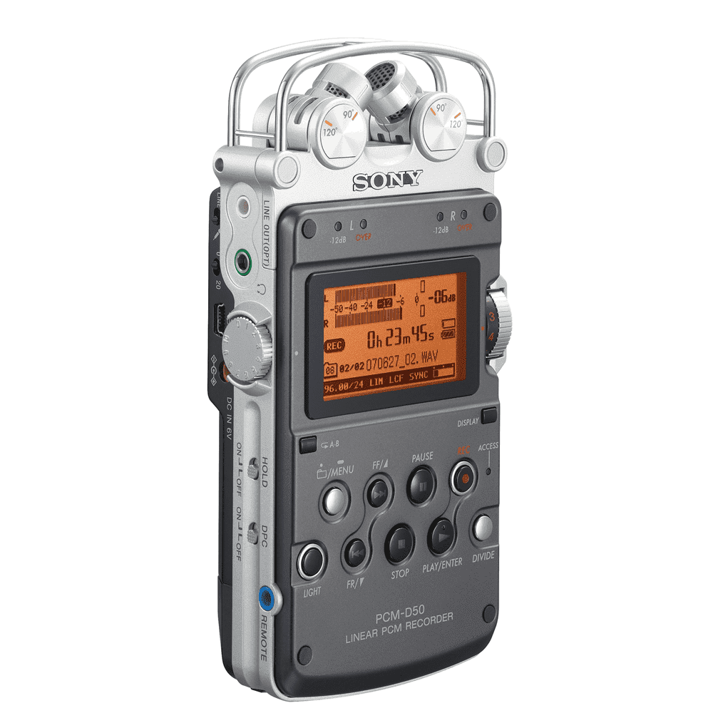 Linear PCM Recorder PCM-D50, , product-image