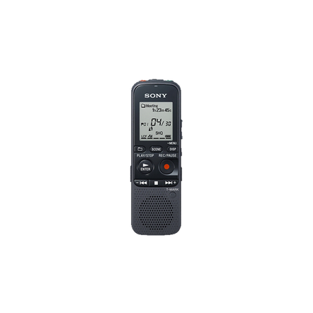 2GB PX Series MP3 Digital Voice IC Recorder with Expandable Memory Capabilities