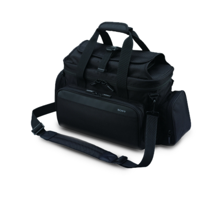 Soft carry case protects camcorder plus accessories against dust and scratches, , product-image
