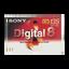 Digital 8 Tape Video Media