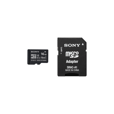 16GB SR-UY2A Series micro SD Memory Card