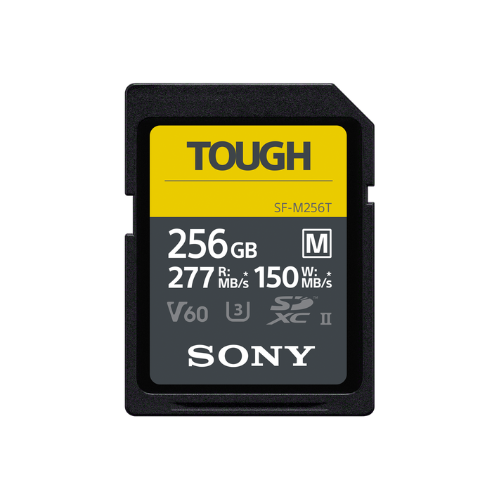 256GB SF-M series TOUGH UHS-II SD Card, , product-image