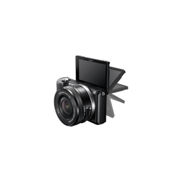 a5000 E-mount Camera with APS-C Sensor and 16-50 mm Zoom Lens, , lifestyle-image