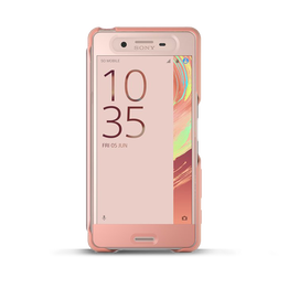 Style Cover Touch SCR56 for Xperia X Performance (Rose Gold)
