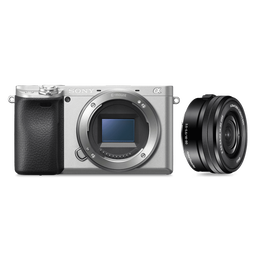 Alpha 6400 Premium Digital E-mount APS-C Camera Kit with 16-50mm Lens (Silver), , lifestyle-image