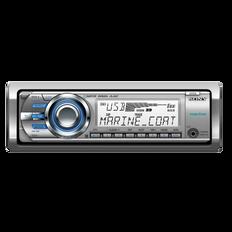 Marine MP3 M60 Series Radio/CD Head Unit (Silver)