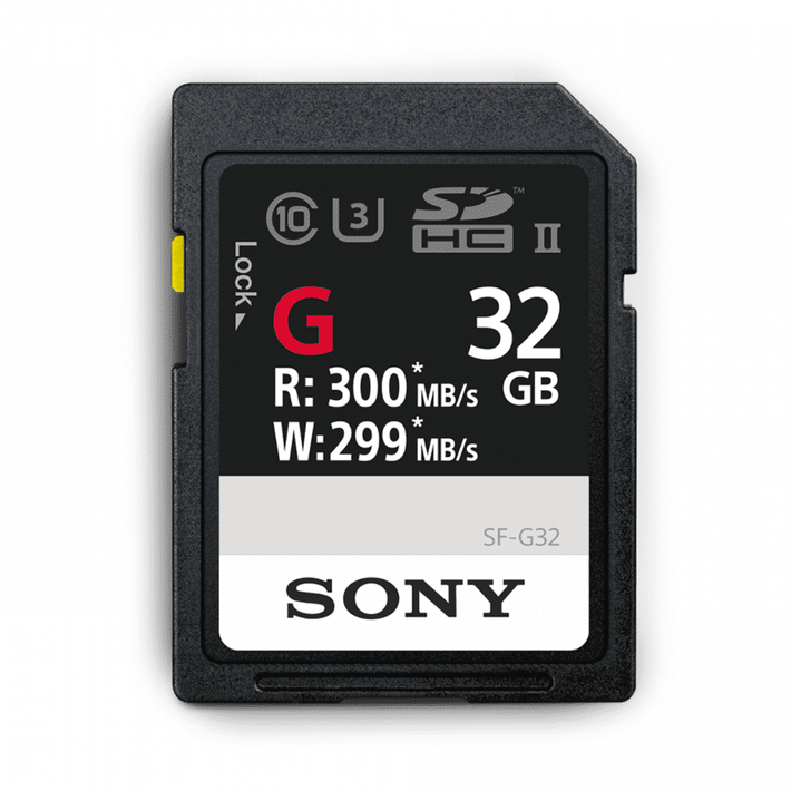 32GB SF-G  Series UHS-II SD Memory Card, , product-image